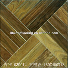 Valuable South American Palo Santo Multilayer Engineered Parquet Wood Flooring
