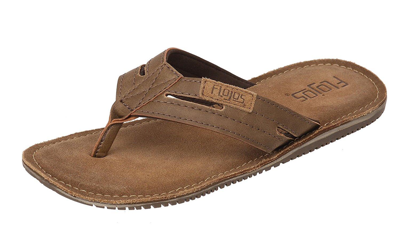 d6935b36dede Get Quotations · Flojos Alonzo Men s Comfort Flip Flops Sandals Shoes