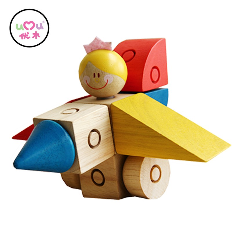 Mini magic button clasp Puzzle Educational Wooden Toys