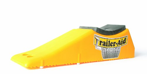 "Trailer-Aid ""Plus"" Tandem Tire Changing Ramp, The Fast and Easy Way To Change A Trailer's Flat Tire, Holds up to 15,000 Pounds, 5.5 Inch Lift (Yellow)"