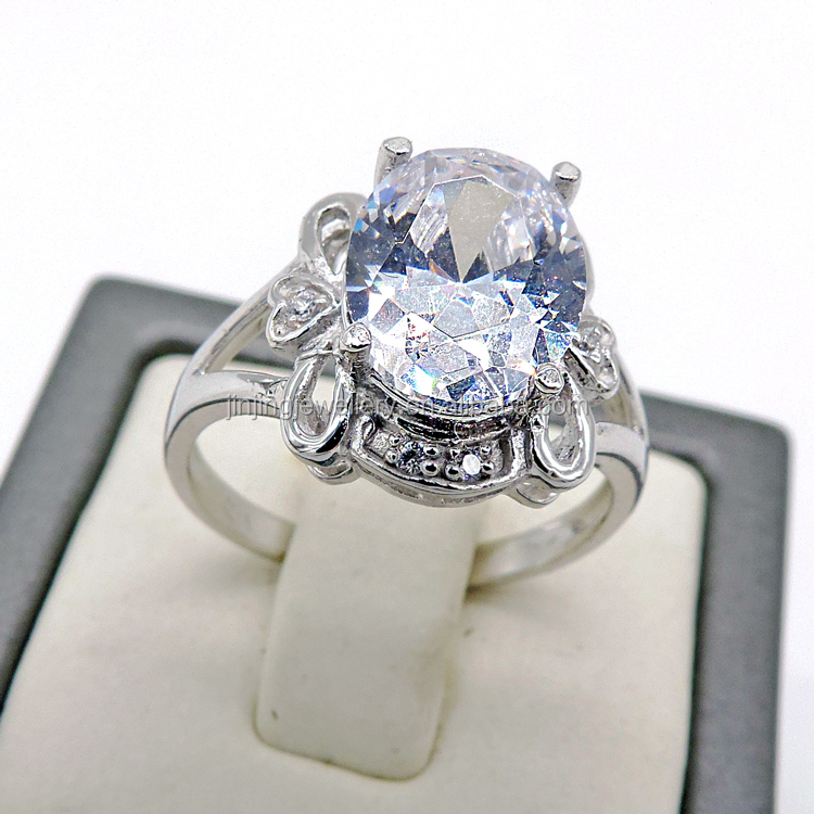 Wholesale Make Your Own Designs value 925 silver diamond ring