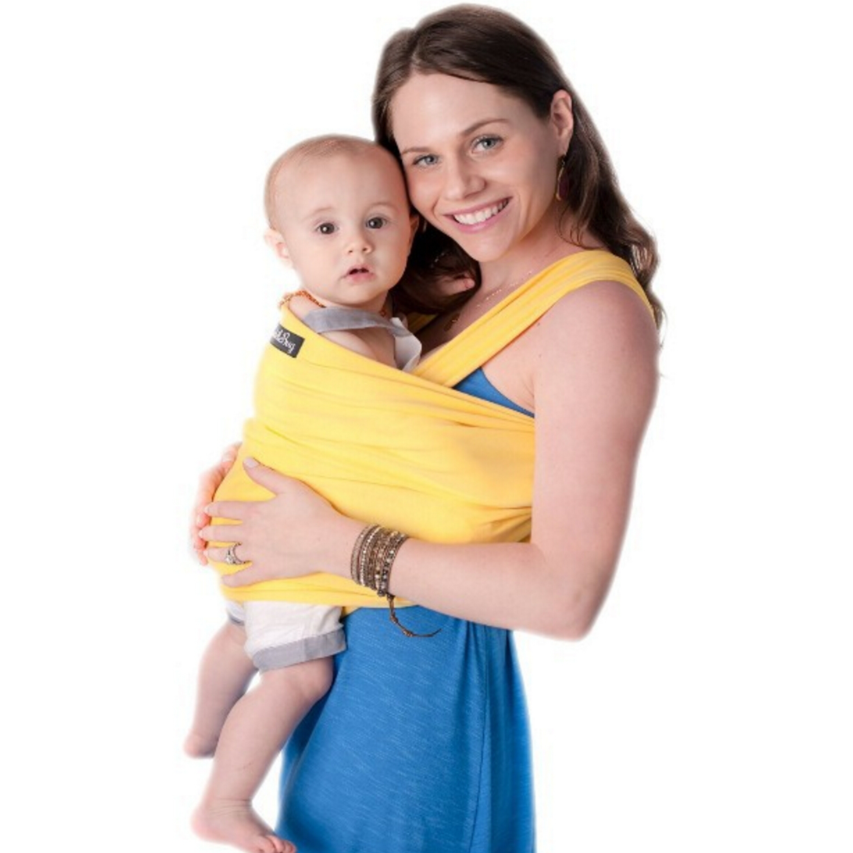 Fashionable lightweight bamboo cotton baby carrier wrap