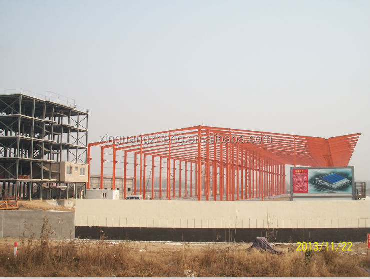 construction light steel structure warehouse & workshop