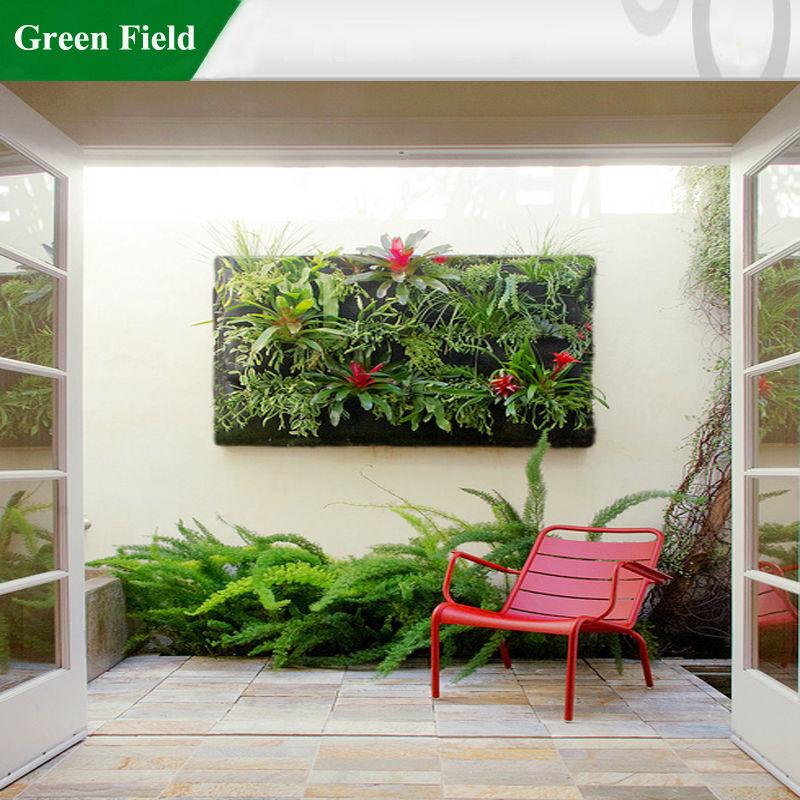 Groene veld verticale tuin systeem tuinieren leven muren for Verticale tuin systeem