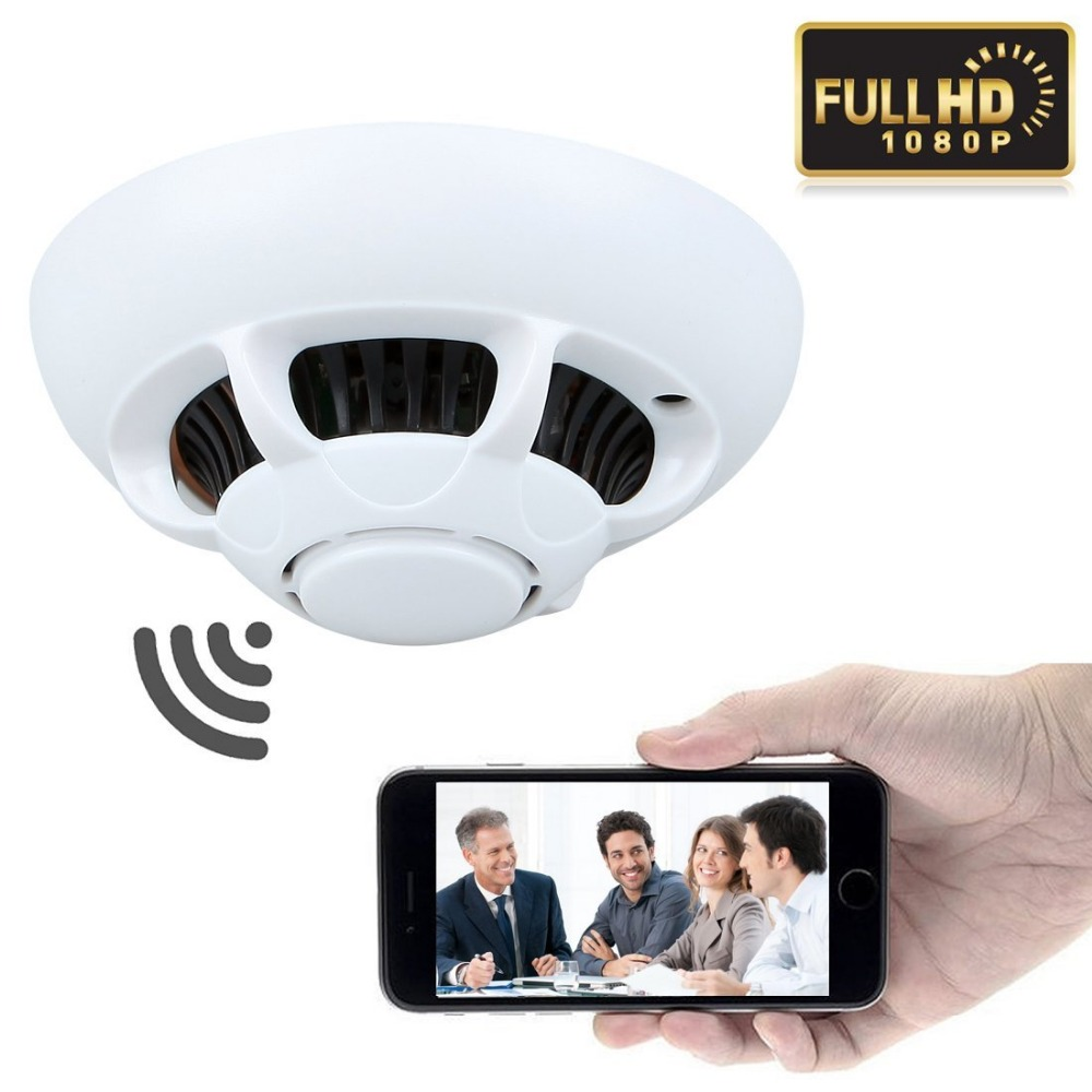 Cmos Smoke Detector Motion Sensor Monitor Security Home Cctv