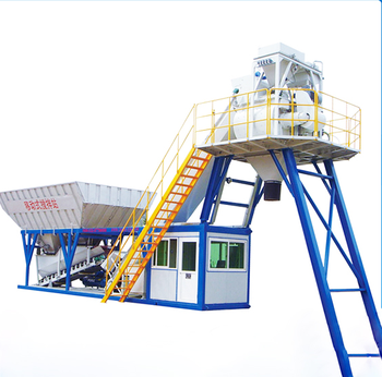 35m3/h Hing Quality Portable Wet Ready Mixed Concrete Batching Plant