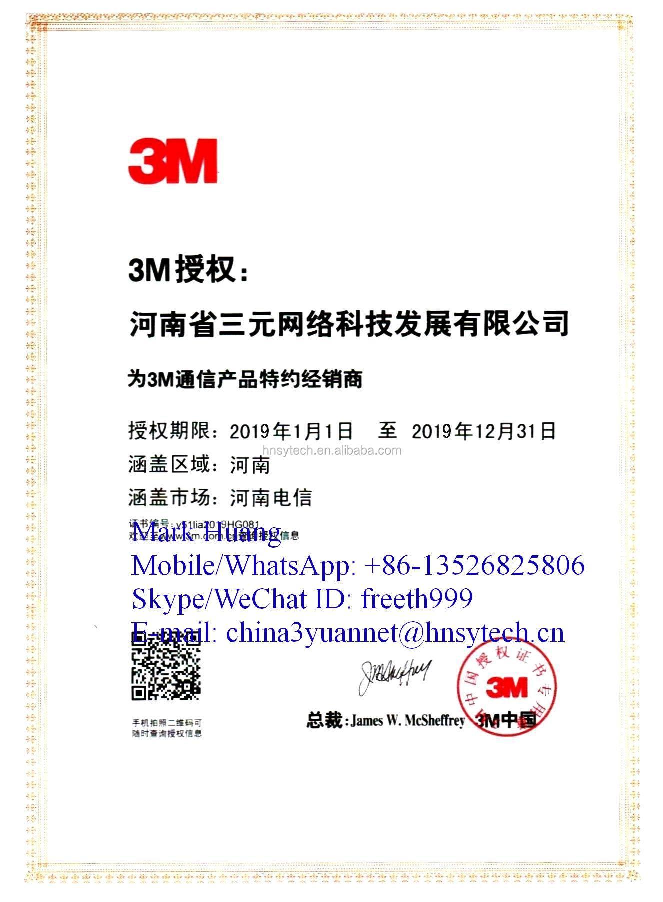 3 M di marca 3 M 2228 # impermeabile nastro isolante elettrico/3 M nastro adesivo nero/nastro impermeabile