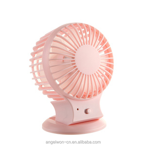 Creative double Vane cooling air usb fan rechargeable mini table fan double side blades fan for home office bedroom travel