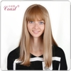 Lady Star Hannah Montana Long Blond Straight Synthetic Hair Wigs