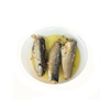 High quality canned sardine in tin 125g with vegetable oil