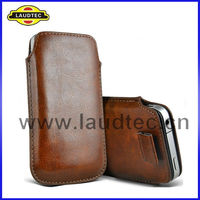 Pull leather case for Blackberry z10 BB10, Phone Case Made in China