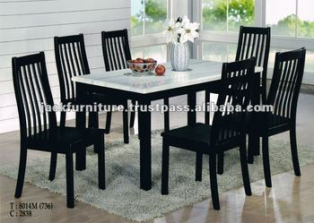 Dining Set Round Marble Top Diningtable Dining Room Sets