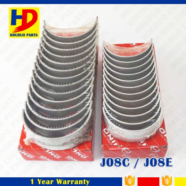 J08C J08E Diesel Engine Bearing Main And Con Rod Bearing STD Size