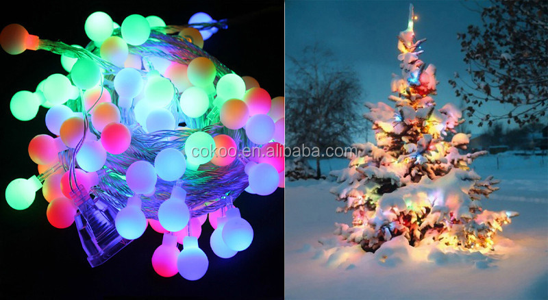 Rgb Led String Strip Holiday Fairy Lights Party Christmas Wedding ...