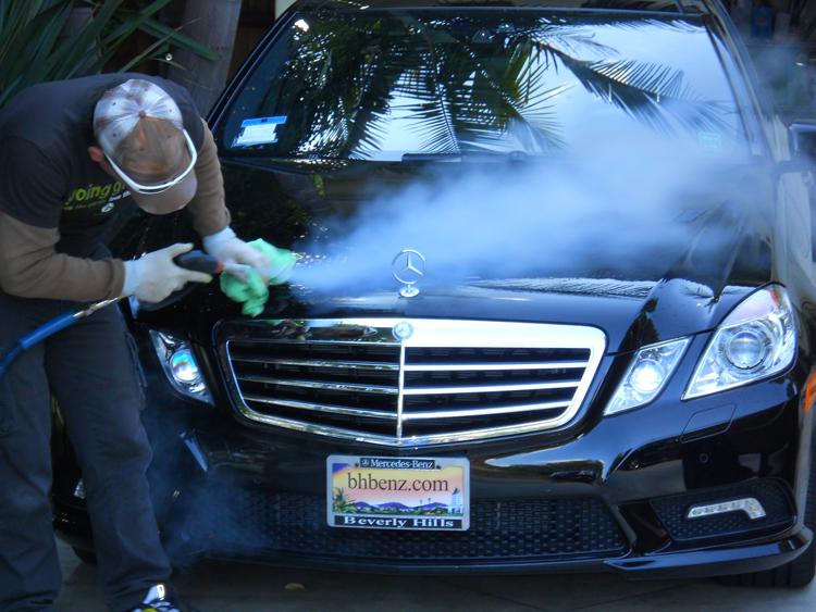 New Popular Eco Portable Hand Steam Car Wash Steam