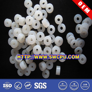 Small Flat Clear Food-grade Silicone Rubber Washer - Buy Clear ...
