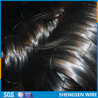Various gauge and hardness black annealed steel iron wire ISO9001 manufactory
