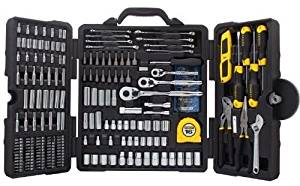 Tool Set Household Kit Stanley 210 Piece Dad Husband Gift Mixed Repair Mechanic .#GH45843 3468-T34562FD142805