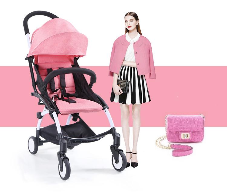 achetez en gros pink baby stroller en ligne des grossistes pink baby stroller chinois. Black Bedroom Furniture Sets. Home Design Ideas