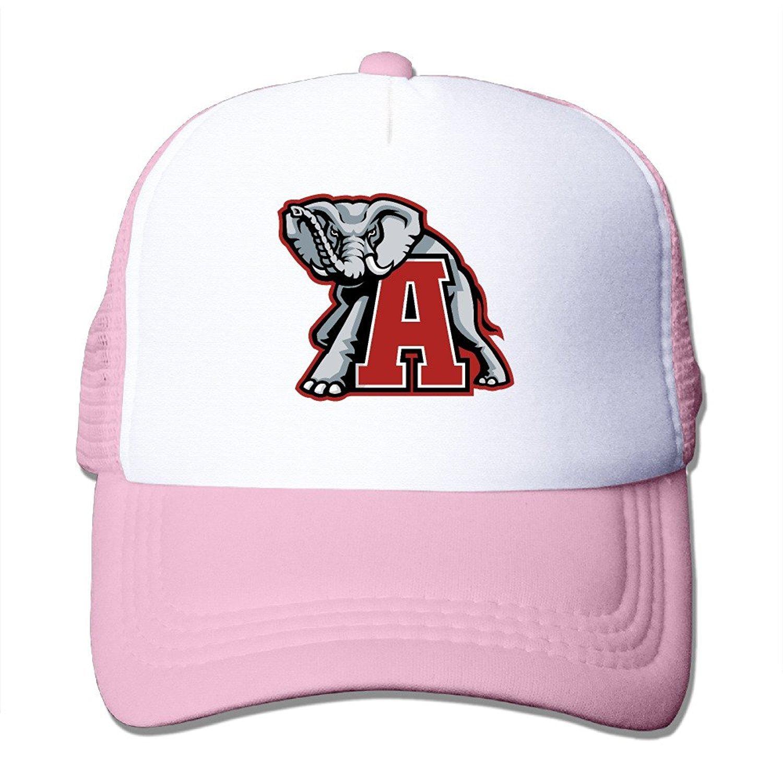 3357460be2444 Get Quotations · lOVE1 McBr University Of Alabama UA Crimson Tide Mascot  Big Al Outdoor Mesh Hat Golfer Cap