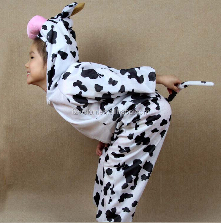china supply jumpsuit kids animal party halloween costume brown horse costumes for kids - Halloween Costume Cow
