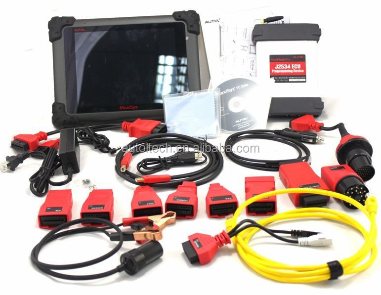 100% Original Autel Maxisys Pro Ms908p Obd2 Car Diagnostic / Ecu  Programming Tool J-2534 Reprogramming Box With Wifi Free Update - Buy  Ms908p Vehicle