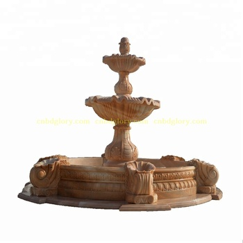 Hot Selling Stone Carved New Product Marble Water Fountain