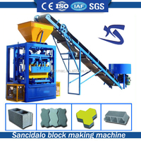 QT4-24 simple cement brick making machine price in kerala