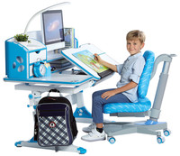 Kids Study Table And Chair With Ergonomic Design