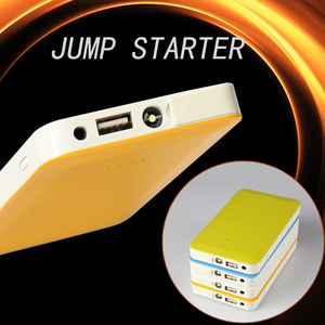 Portable Battery Jumper Cigarette Lighter Plug Charger Jump Starter Cables Booster Car Emergency Power Bank Micro Jump Start Kit