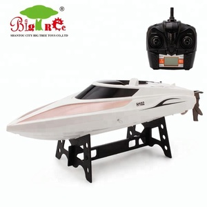 new design 2.4G rc fishing boats electric speed boat with high level package