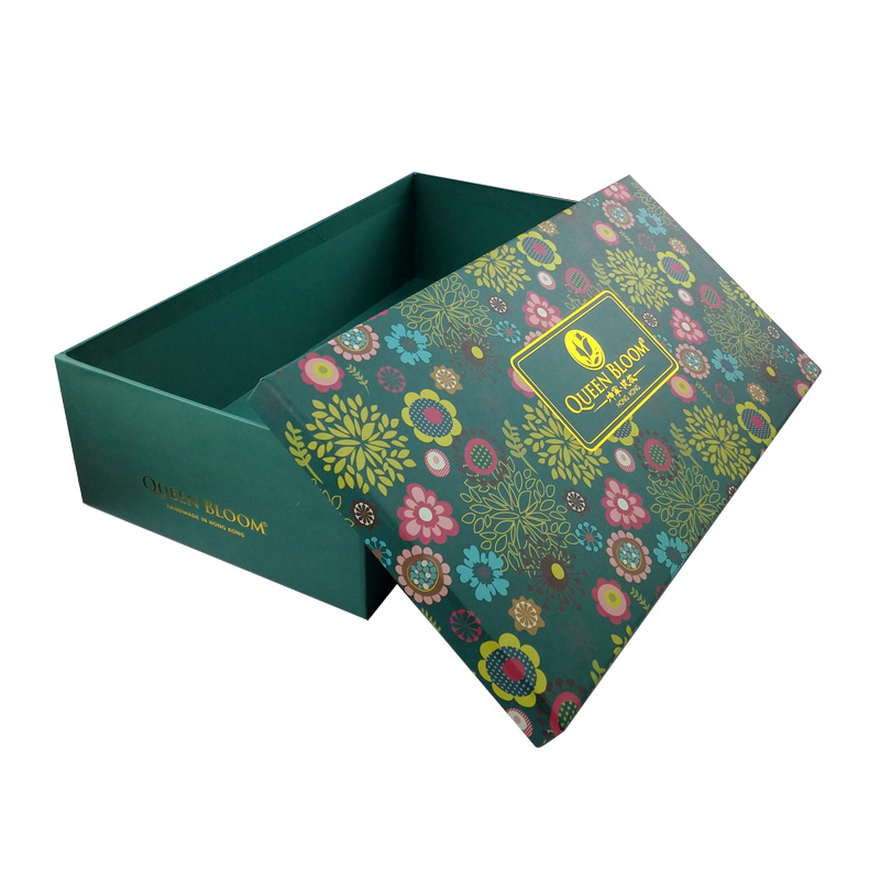 Decorative Cardboard Boxes For Gifts : Custom cardboard decorative christmas gift box with lids