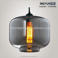 glass oil lamp with wicks round glass lamp shade