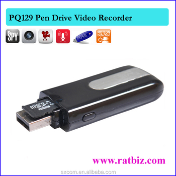 Usb Flash Drive Type Mini Audio Video Recorder Spy Camera Pq129 ...
