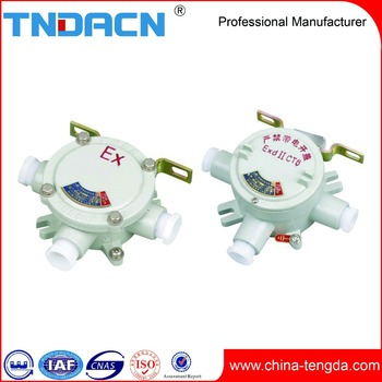 OEM pancake explosion-proof junction box