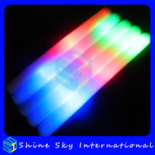 Hot selling in UK party light stick, light stick for concert patty supplies, birthday party led foam stick for party