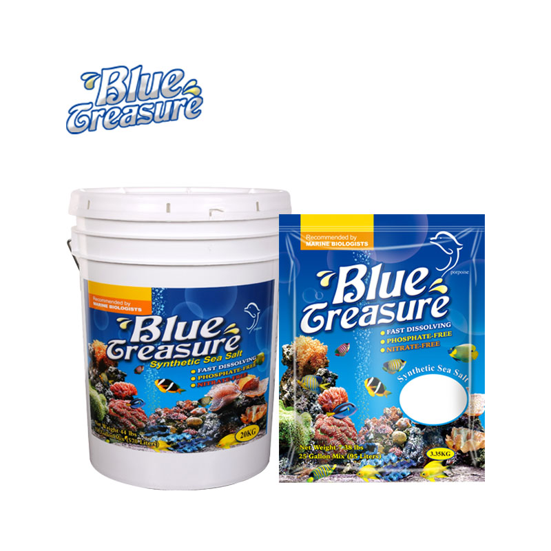 Blue Treasure Reef Crystals Synthetic Sea Salt