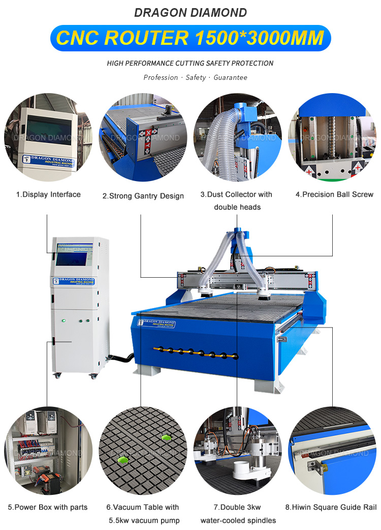 1530 CNC Wood Router Machinery