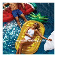 Cool Design Inflatable Island Float Lounge