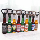 Promotional Wholesales High Quality Beer Bottle Opener 3d Resin Fridge Magnet For Refrigerator Decoration