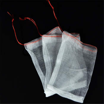 Export Plant Cover Protection Mesh Bag With Nylon Rope
