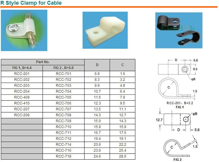 HTB1XvzhHVXXXXX0XFXXq6xXFXXXw plastic screw tie mount r type cable clamp nylon 66 material nylon  at alyssarenee.co