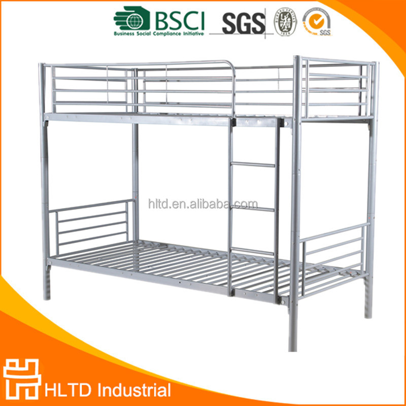 Cheap Kids Double Deck Bed Metal Frame Bunk Bed with Stairs