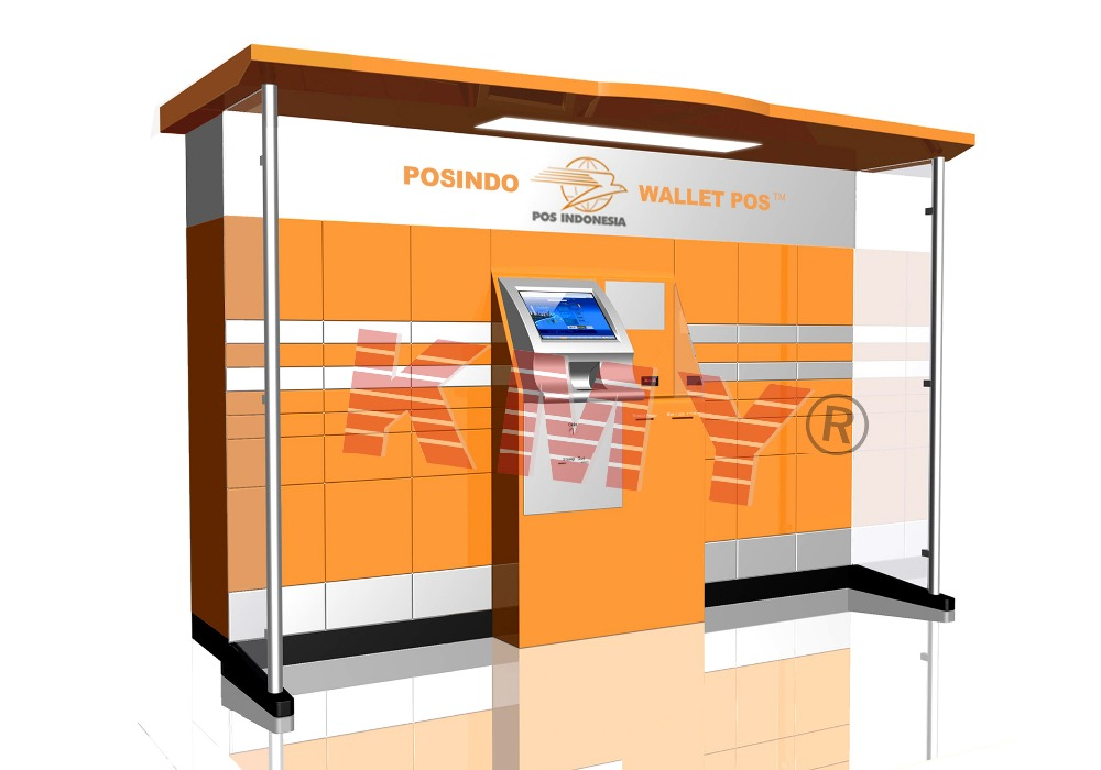 High quality self service postal Kiosk machine for sale