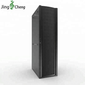 "19"" Black 45U 1000kg Static Loading Server Rack Network Cabinet"
