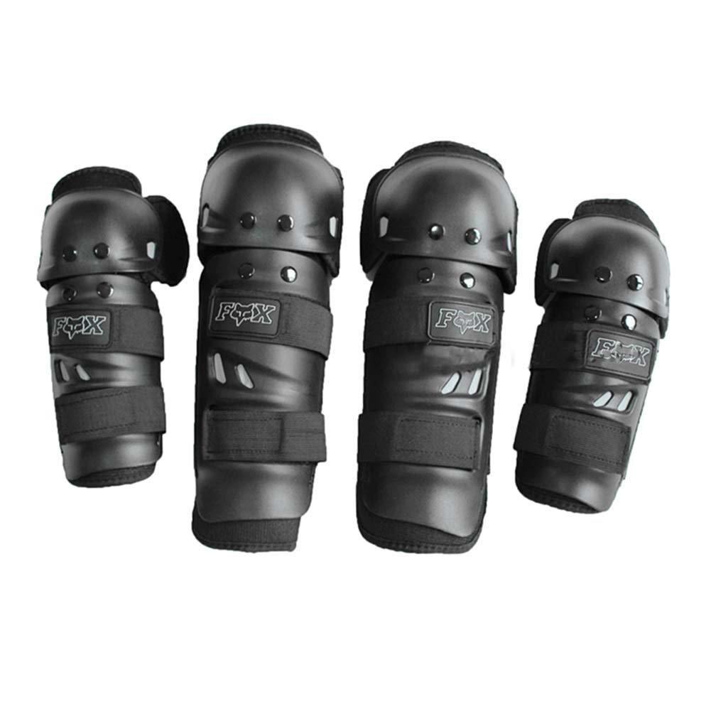 Knee/Shin Elbow/Forearm Guard Set for Racing Motocross Motocycle