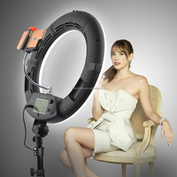 FE-480II 96w Camera Photo/Video 18inch 3200-5600K LED Dimmable Ring Flash Light Studio