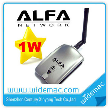 Alfa Usb Wifi Adapter Wifi Driver 1000mw Realtek 8187l Chipset Alfa  Awus036h Alfa Usb Wifi Adapter - Buy Realtek 8187l Alfa,Realtek 8187l  Alfa,Realtek