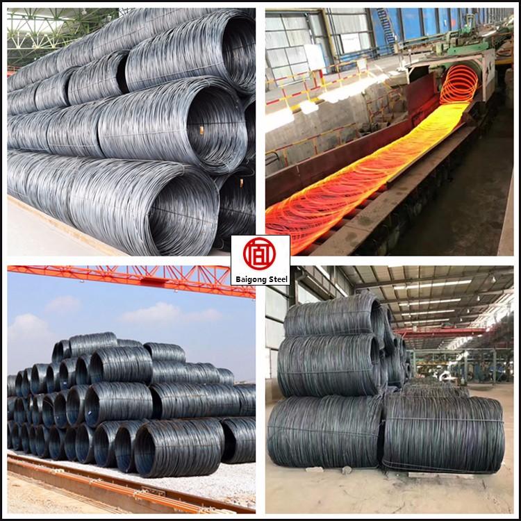 High Carbon Steel Wire Rod Of 12 Gauge Steel Wire - Buy Steel Wire ...