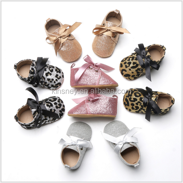 KS40180S Hot sell infant toddler soft sole cute baby shoes in bulk